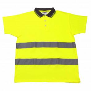Warnschutz Polo-Shirt Safe Poko